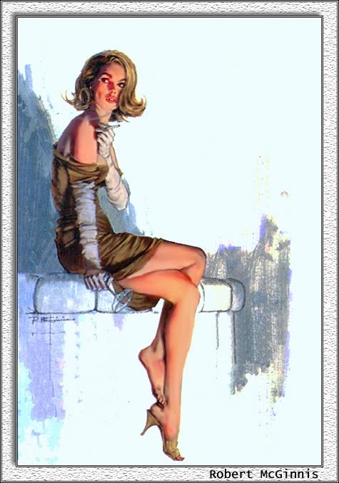 Пинап от художника Robert Mcginnis (8 работ)