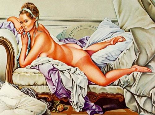 Девушки Mel Ramos (83 работ)