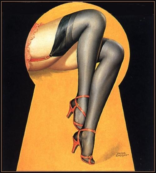 Пинап от художника Piter Driben (92 работ)