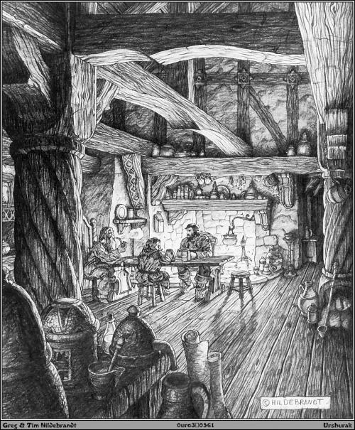Фантастический арт от Greg Hildebrandt (237 работ)