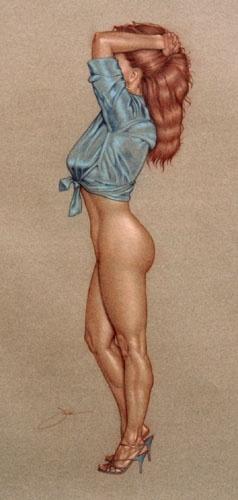 Девушки Jack Henslee (94 работ)