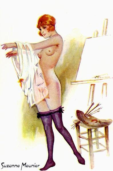 Девушки Suzanne Meunier (42 работ)