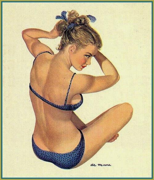 Девушки Ai Moore (58 работ)