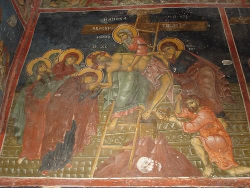 Сербия (7 Часть). Фрески церкви св.Николая в Прилепе 12-13 вв. (Македония) (445 работ)
