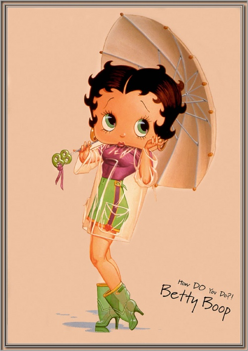 Девушки Betty Boop (16 работ)