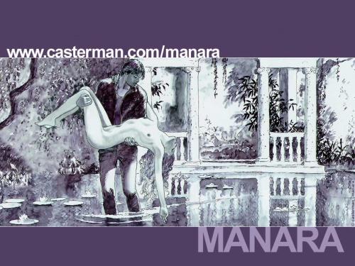 Девушки Milo Manara (39 работ)