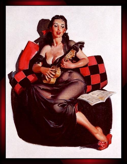 Пинап от художника Joyuse Ballantine (22 работ)