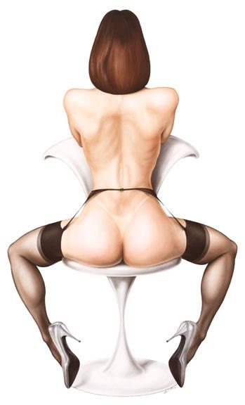 Пинап от художника Robert Brun (7 работ)