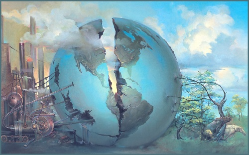 Фантастический арт от John Pitre (60 работ)
