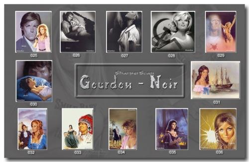 Пинап от художника Gourdon_Noir (66 работ)