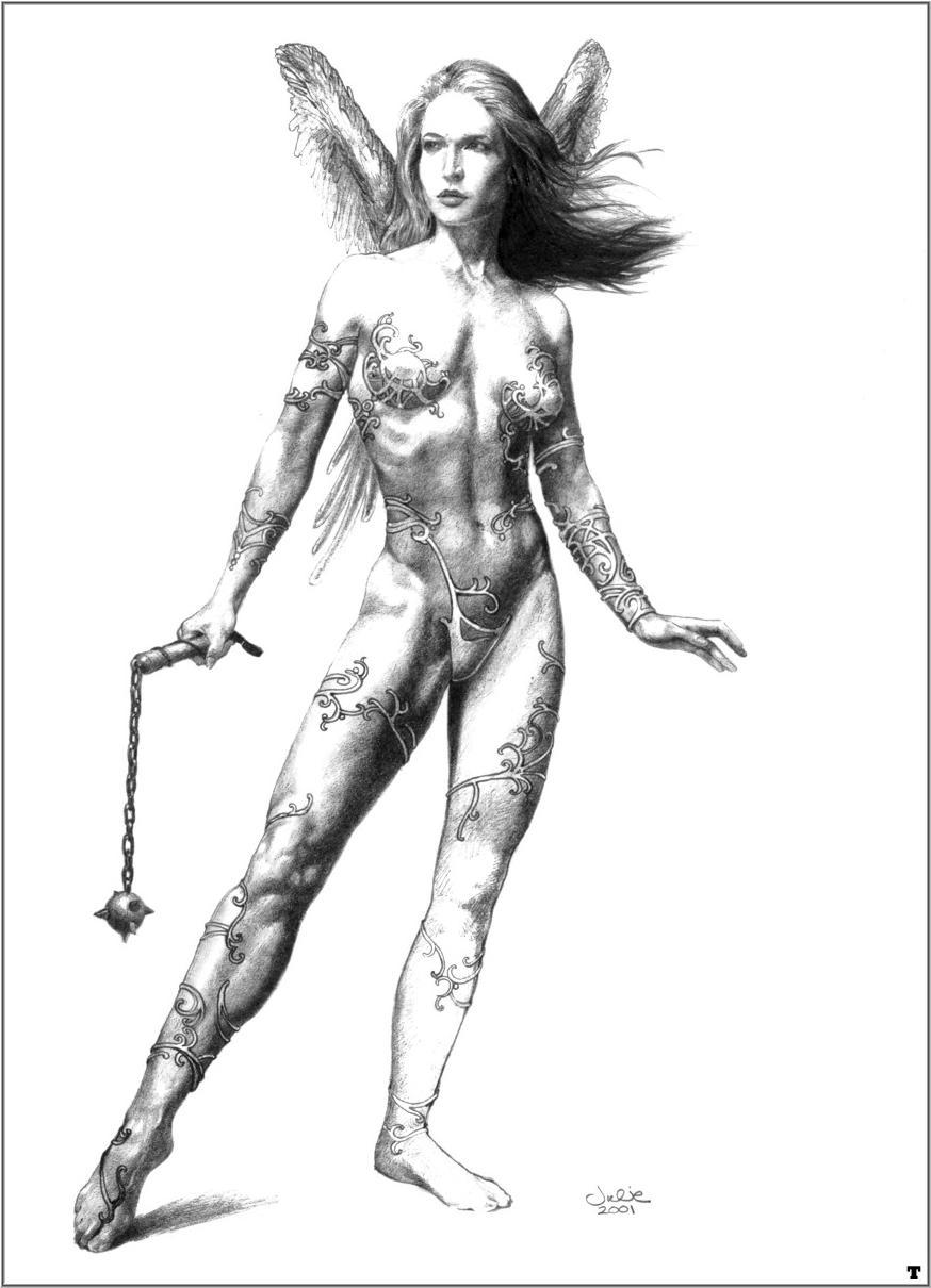 Эскизы голых женщин 10 фотография