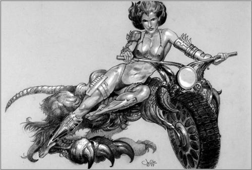 Фантастический арт от Julie Bell (314 работ)