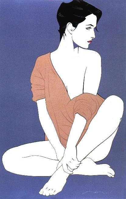 Девушки Patrick Nagel (41 работ)