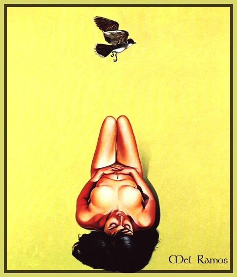 Пинап от художника Mel Ramos (53 работ)