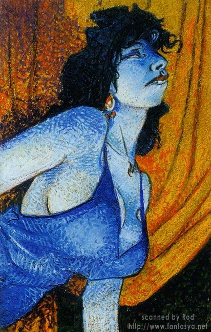 Пинап от художника Rod Loisel (5 работ)