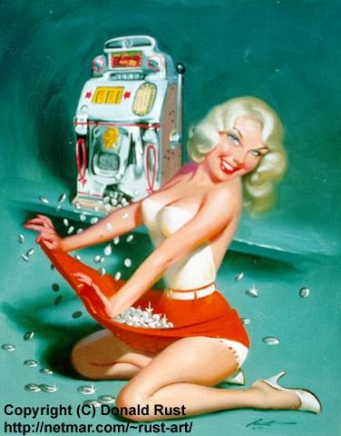 Девушки Donald Rust (144 работ)