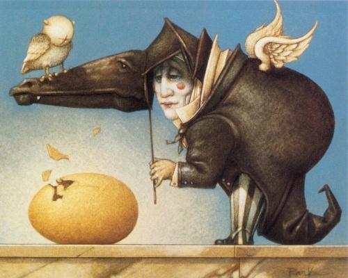 Фантастический арт от Michael Parkes (163 работ)