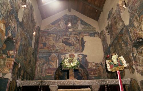 Византия (19 Часть). Фрески храма св. Николая (Олимп, Греция) (158 открыток)