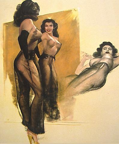 Девушки Earl Mac Pherson (110 работ)