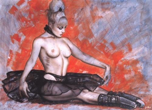 Пинап от художника Olivia De Bernardis (549 работ)