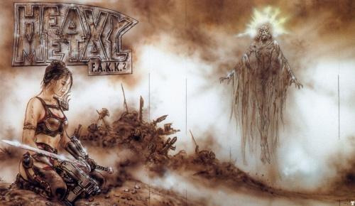 Фантастический арт от Luis Royo (804 работ)