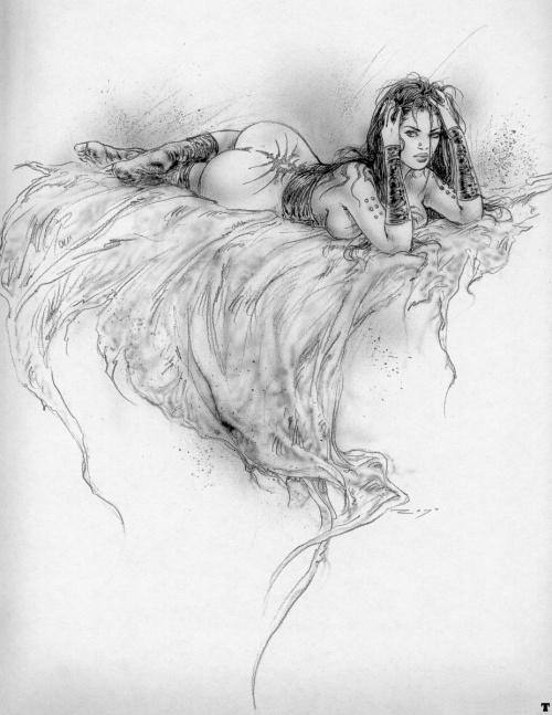 Как нарисовать полуголую девушку карандашом Учитесь рисовать.