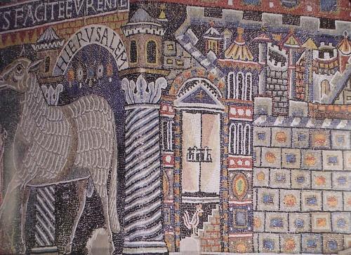 Византия (13 Часть). Мозаики базилики Сан Клементе (38 открыток)
