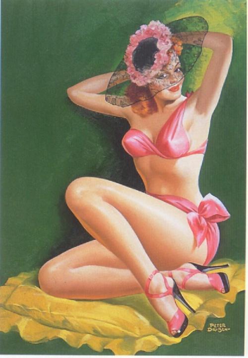 Девушки Peter Driben (311 работ)