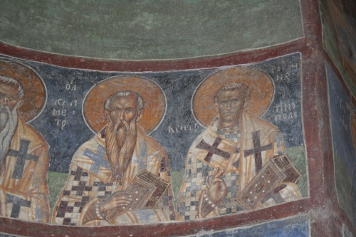 Сербия (4 Часть). Фрески церкви ап. Андрея (Македония) (178 работ)