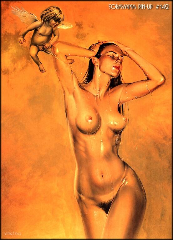 рисунки голых девушек видео