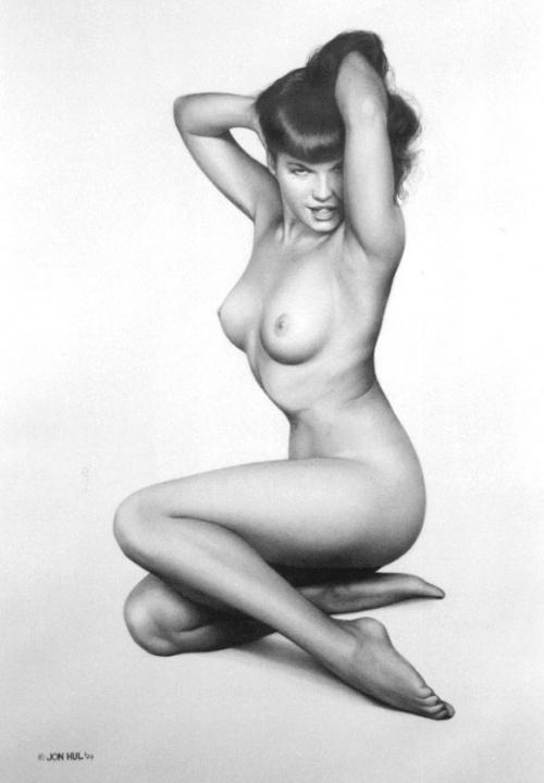 Пинап от художника Jon Hul (15 работ)