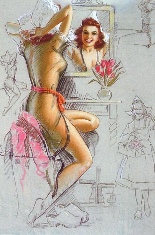 Девушки K.O.Munson (48 работ)