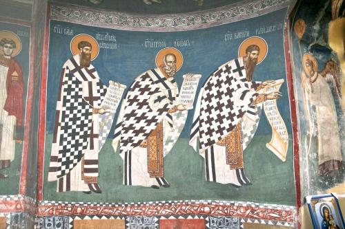 Сербия (3 Часть). Фрески храма св. Апостолов XIV в. Патриархия. г. Печь. Македония (354 работ)