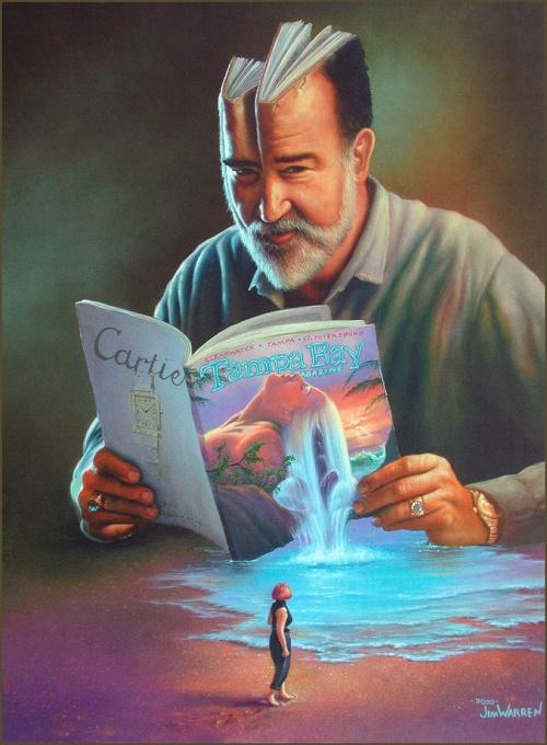 Фантастический арт от Jim Warren (142 работ)