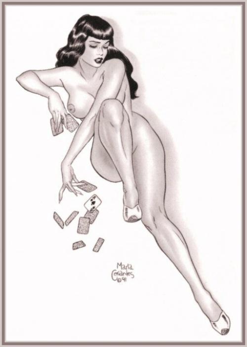 Девушки BettyPage (46 работ)