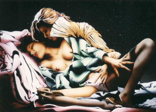 Пинап от художника Alain Saguez (40 работ)