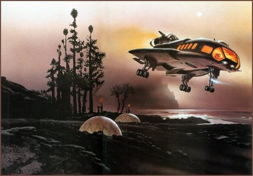 Фантастический арт от Chris Moore (74 работ)