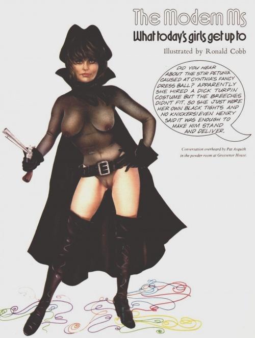 Пинап от художника Ronald Cobb (13 работ)