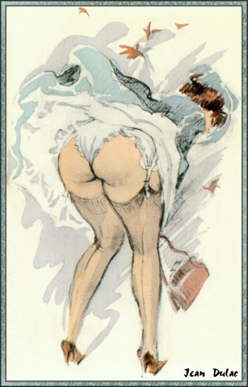 Пинап от художника Jean Dulac (3 работ)