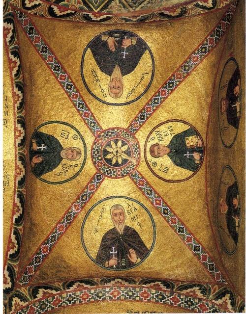 Византия (23 Часть). Тне holy and great monastery of Vatopaidi (472 открыток)