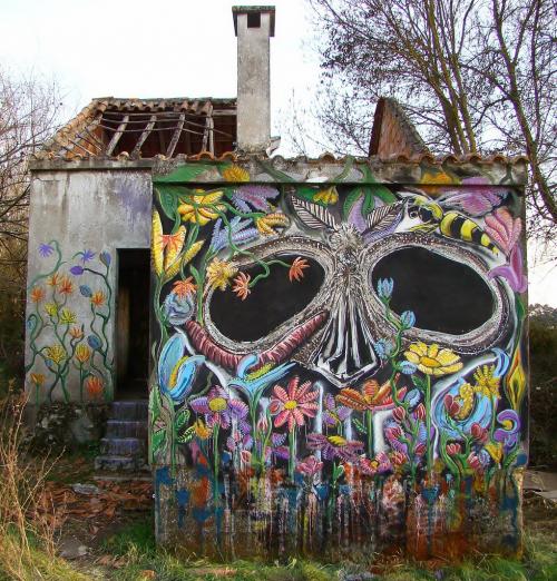 Уличные рисунки Violant (18 работ)