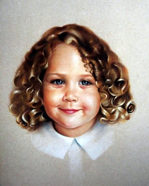 Детский портрет в живописи (207 работ)