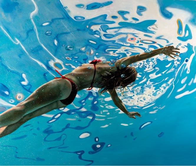 underwater paintings artwork - HD1600×1360