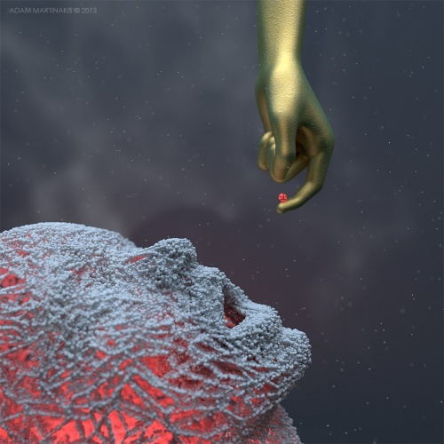 Цифровые скульптуры Adam Martinakis (13 работ)