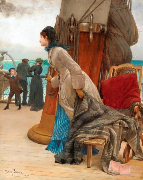 Американский художник Henry Bacon (1839-1912) (41 работ)