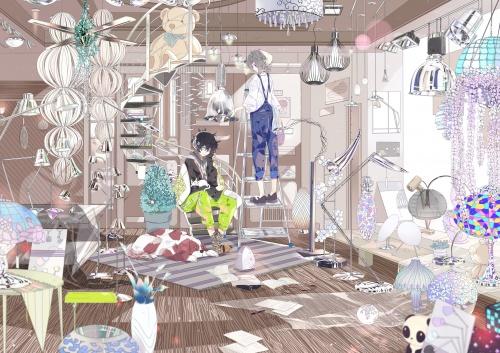 Artist / Hai P (嗨P) (15 работ)