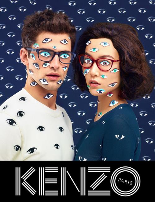 Рекламная кампания Kenzo (8 фото)