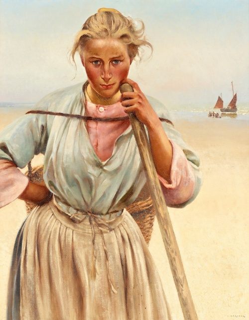 Artworks of August Hagborg (35 работ)