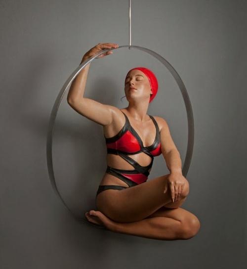 Скульптор реалист Carole Feuerman (105 работ)