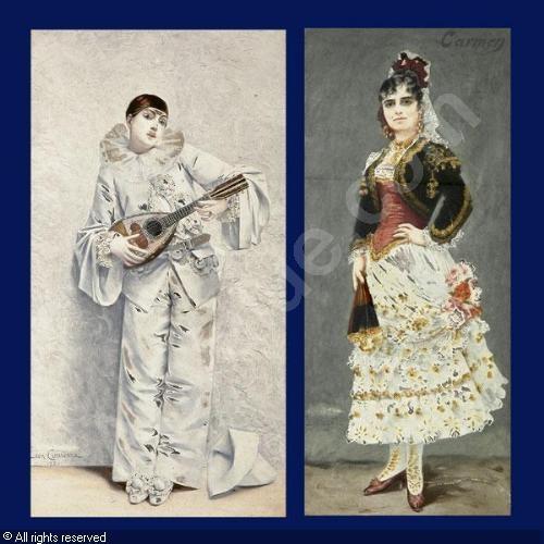 Французский художник Leon Francois Comerre (1850 – 1916) (90 работ)